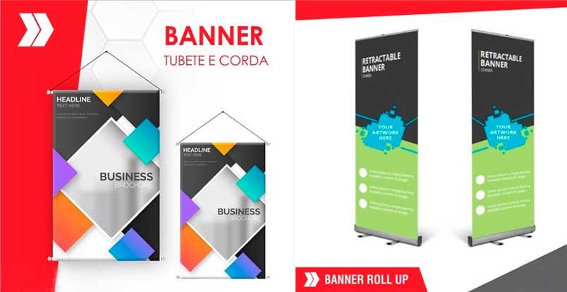 Uso de banners para pequenas empresas