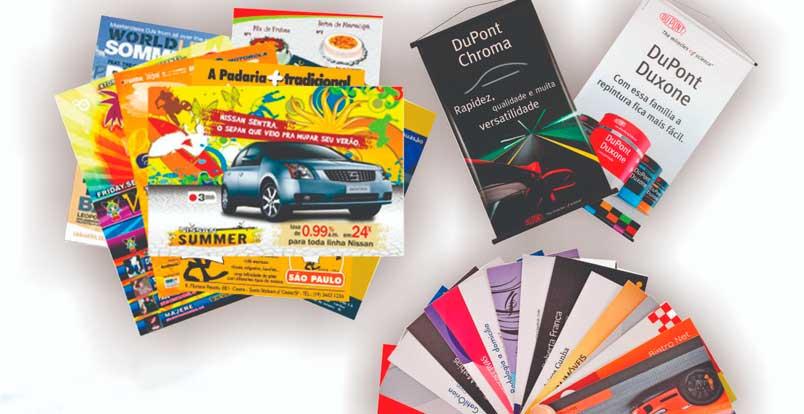 Idéias de marketing de impressão atraentes