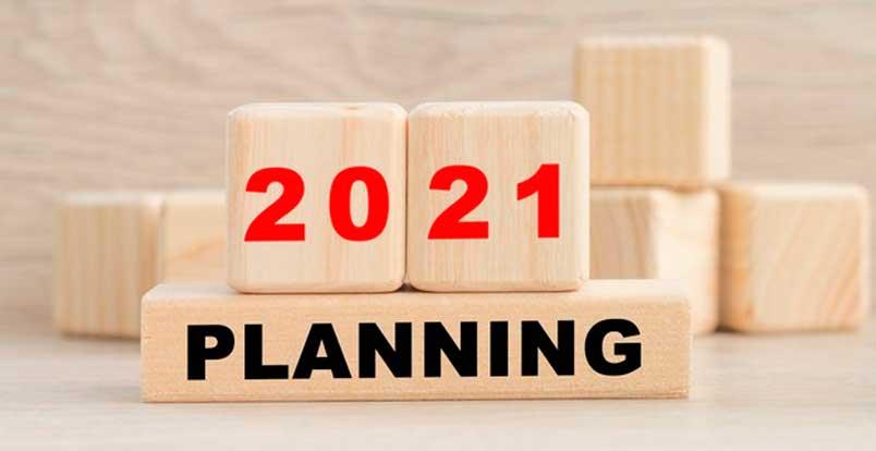 Planejamento dos negócios para 2021
